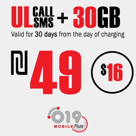 019 Mobile Unlimited calls and SMS + 30GB for 30 Days